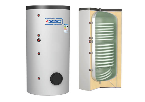 Boiler de 800 litri cu 2 serpentine - 3138162321206