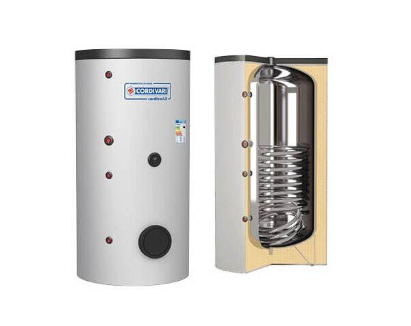 Boiler CORDIVARI 1ST INOX HE 1250 litri