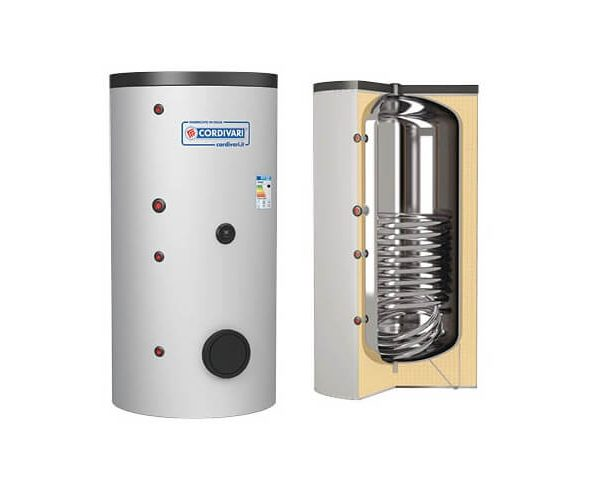 Boiler CORDIVARI 1ST INOX HE 2000 litri