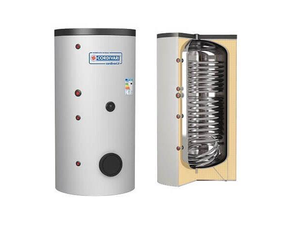 Boiler CORDIVARI 2ST INOX HE 1250 litri