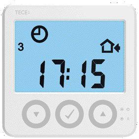 Senzor de temperatura interioara TECEFloor WLCT3 cu comunicatie Modbus
