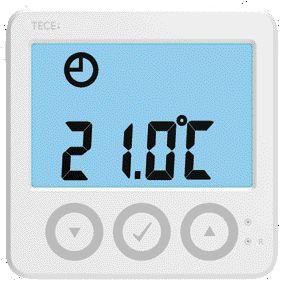 Senzor de temperatura interioara TECEFloor WLDT3 cu comunicatie Modbus