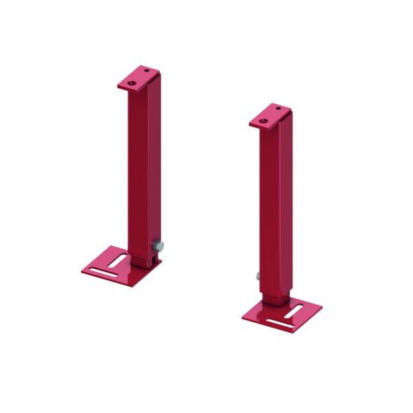 Picioare sustinere/montaj din otel pentru rezervor WC TECEbox cod 9370000