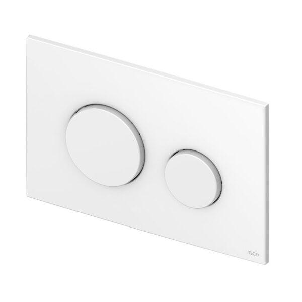 TECEloop – clapete WC din plastic, 2 trepte de actionare