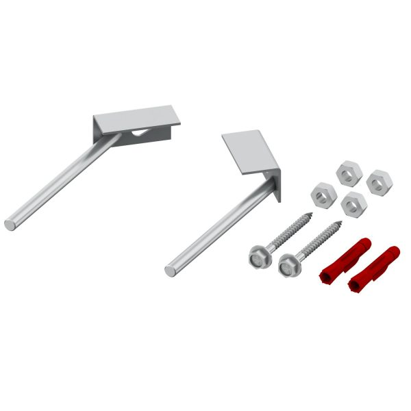 Sistem de fixare cu talpa pentru cadre TECE, de colt (45˚) - 9380301