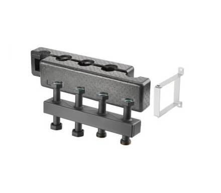 """Distribuitor pentru """"Regumat"""" DN 25 cu termoizolație, din oțel, model compact"""