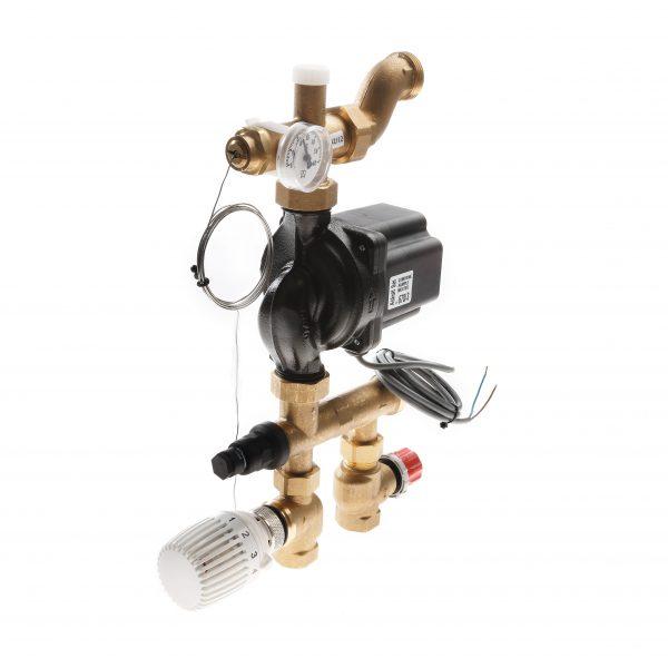 Grup amestec si pompare TECEfloor SLQ cu pompa electronica - 77450000