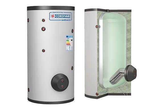 Boiler de 1500 litri cu schimbator de caldura extractabil - 3072162360107