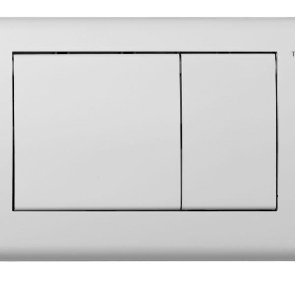 TECEplanus – clapeta WC din otel inox, 2 trepte de actionare
