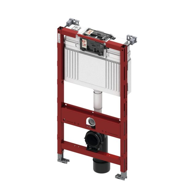 Rezervor WC cu cadru TECE STANDARD, actionare frontala sau superioara, inaltime 980 mm - 9300022
