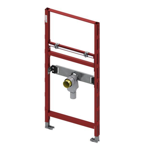 Cadru lavoar TECE STANDARD, I=500 mm, H 1120 mm reglabila, cu sifon de scurgere cu garda antimiros - 9310004